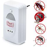 Электромагнитный отпугиватель насекомых Pest Reject от сети, фото 2