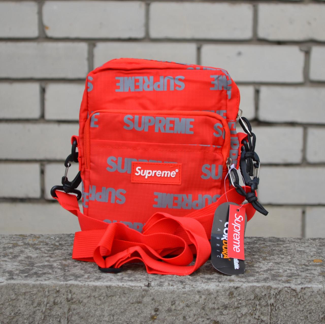 Мессенджер на плече Supreme UCUT red ⏩ Наличие: Шт.2