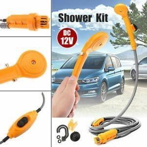 Портативный автомобильный душ SUNROZ Automobile Shower Set от прикуривателя 12В