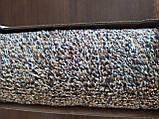 Супервпитывающий придверный коврик Clean Step Mat коричневый, фото 6