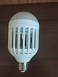 Антимоскитная лампа Zapp Light LED уничтожитель комаров и насекомых светодиодная лампа 2 в 1, фото 5