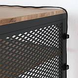 FJÄLLBO ФЙЕЛЛЬБУ, Стіл для ноутбука, чорний100x36 см, фото 2