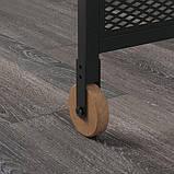 FJÄLLBO ФЙЕЛЛЬБУ, Стіл для ноутбука, чорний100x36 см, фото 3