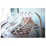 MULIG МУЛІГ, Штанга для одягу, білий 99x46 см, фото 3