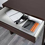 MICKE МІККЕ, Письмовий стіл, чорно-коричневий73х50 см, фото 4