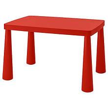 MAMMUT МАММУТ, Дитячий стіл, для приміщення/вулиці червоний77x55 см