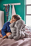 JÄTTESTOR ЄТТЕСТОР, Іграшка м'яка, слон, сірий, фото 2