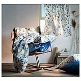 BLÅGRAN БЛОГРАН, Чохол для подушки, синій, білий50x50 см, фото 2
