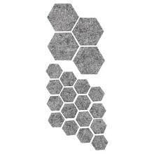 FIXA ФІКСА, Накладки на ніжки меблів, 20 шт, сірий