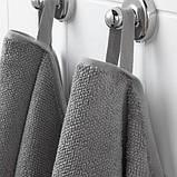 VIKFJÄRD ВІКФЙЕРД, Рушник для рук, сірий50x100 см, фото 3
