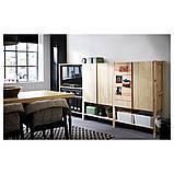 IVAR ІВАР, 3 секції/полиці/шафа, сосна 259x30x124 см, фото 3