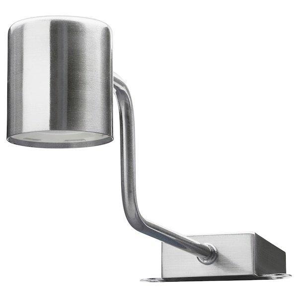 URSHULT УРСГУЛЬТ, LED підсвітка для шаф, нікельований