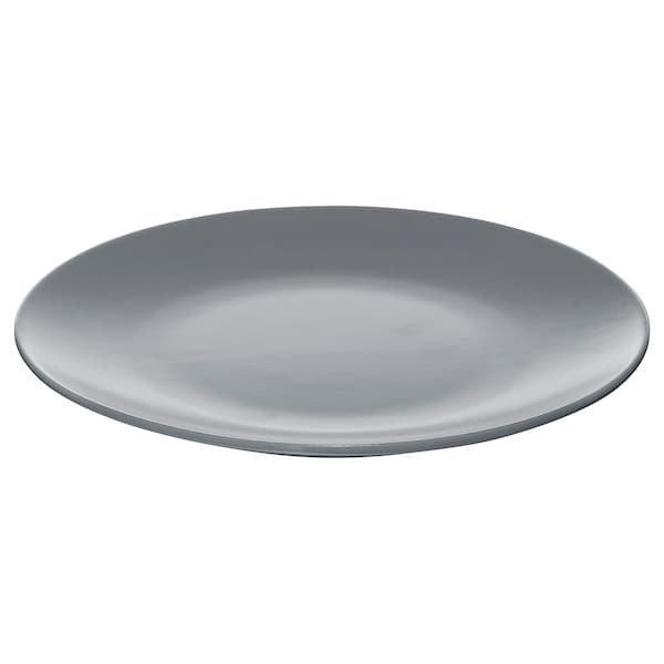 DINERA ДІНЕРА, Тарілка десертна, сіро-блакитний20 см