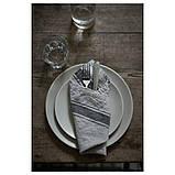 DINERA ДІНЕРА, Тарілка десертна, сіро-блакитний20 см, фото 2