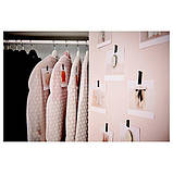 PLURING ПЛУРІНГ, Чохол для одягу, 3 шт, білий прозорий, фото 3