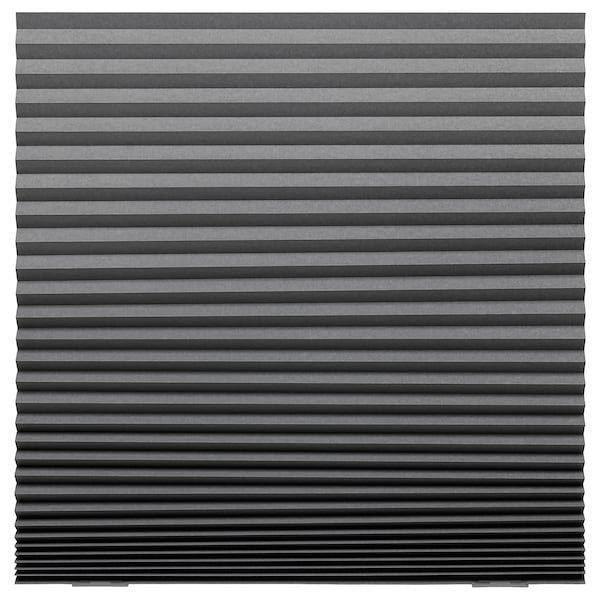 SCHOTTIS СКОТТІС, Затемнювальні штори пліссе, темно-сірий100x190 см