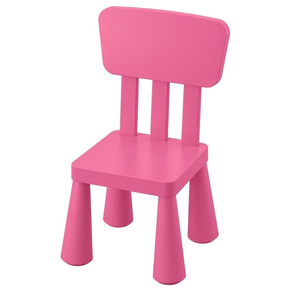 MAMMUT МАММУТ, Дитячий стілець, для приміщення/вулиці, рожевий