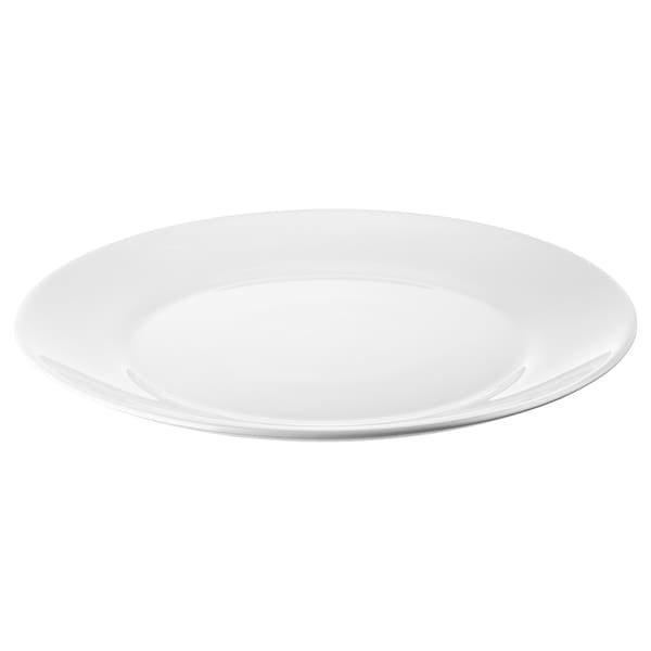 OFTAST ОФТАСТ, Тарілка, білий 25 см