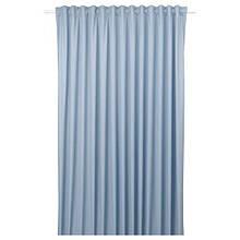 BENGTA БЕНГТА, Затемнювальні штори, довжина 1, синій210х300 см