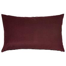 SANELA САНЕЛА, Чохол для подушки, темно-червоний40x65 см