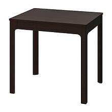 EKEDALEN ЕКЕДАЛЕН, Розкладний стіл, темно-коричневий80/120x70 см