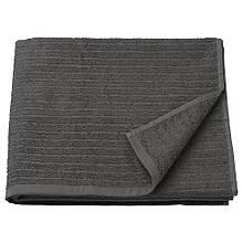 VÅGSJÖN ВОГШЕН, Банний рушник, темно-сірий70x140 см