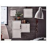 LIXHULT ЛІКСХУЛЬТ, Настінна комбінація шаф, білий50x25x50 см, фото 3