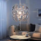 IKEA PS 2014 ІКЕА ПС 2014, Світильник підвісний, білий, сріблястий52 см, фото 2