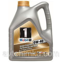 MOBIL1 4л FS 0W-40 Синтетика API SN/CF, ACEA A3/B3, A3/B4, Nissan GT-R, MB 229.3, MB 229