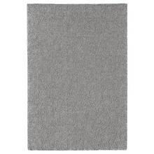 STOENSE СТОЕНСЕ, Килим, короткий ворс, класичний сірий133х195 см