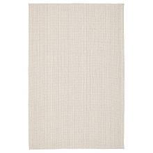 TIPHEDE ТІПХЕДЕ, Килим, пласке плетіння, натуральний, кремово-білий120х180 см