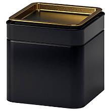 BLOMNING БЛОМНІНГ, Жерстяна коробка для кави/чаю10x10x10 см