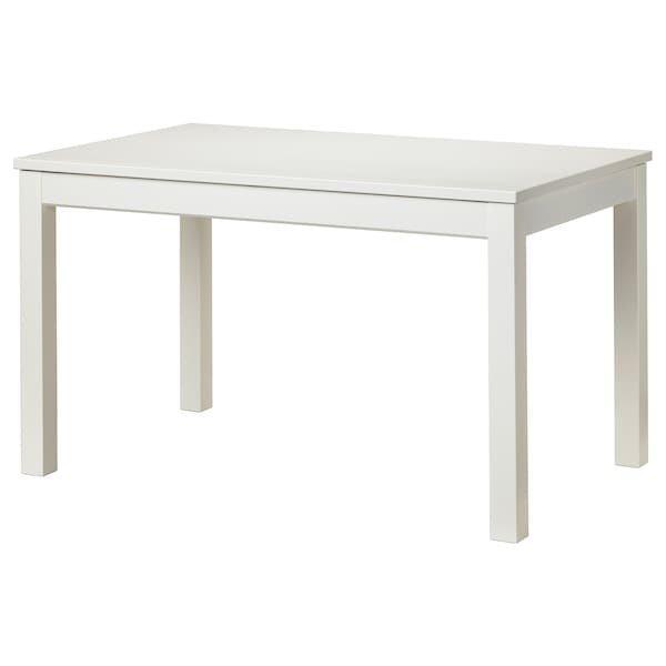 LANEBERG ЛАНЕБЕРГ, Розкладний стіл, білий130/190x80 см