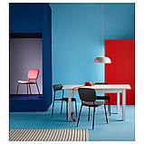 LANEBERG ЛАНЕБЕРГ, Розкладний стіл, білий130/190x80 см, фото 4
