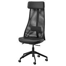 JÄRVFJÄLLET ЄРВФЙЕЛЛЕТ, Офісний стілець, ГЛОСЕ чорний