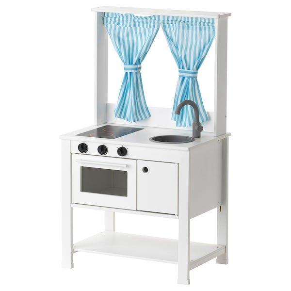SPISIG СПІСІГ, Іграшкова кухня із шторами55x37x98 см
