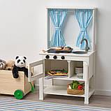 SPISIG СПІСІГ, Іграшкова кухня із шторами55x37x98 см, фото 2
