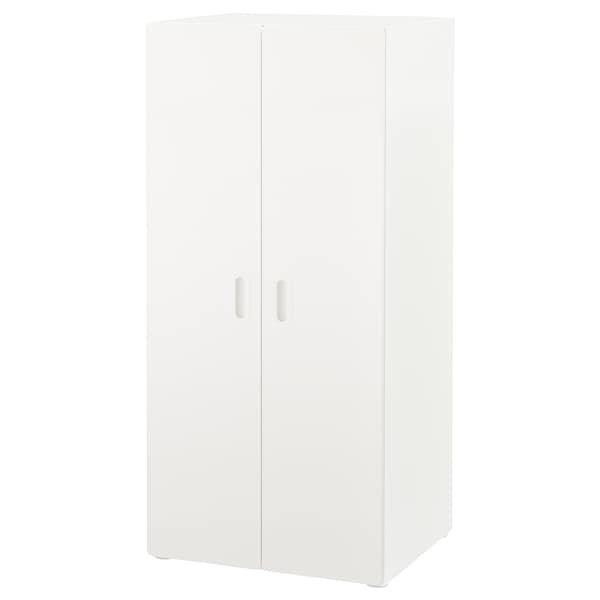 STUVA СТУВА / FRITIDS ФРІТІДС, Гардероб, білий, білий60x50x128 см