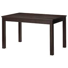 LANEBERG ЛАНЕБЕРГ, Розкладний стіл, коричневий130/190x80 см