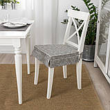 ELSEBET ЕЛЬСЕБЕТ, Подушка на стілець, сірий43x42x4.0 см, фото 2