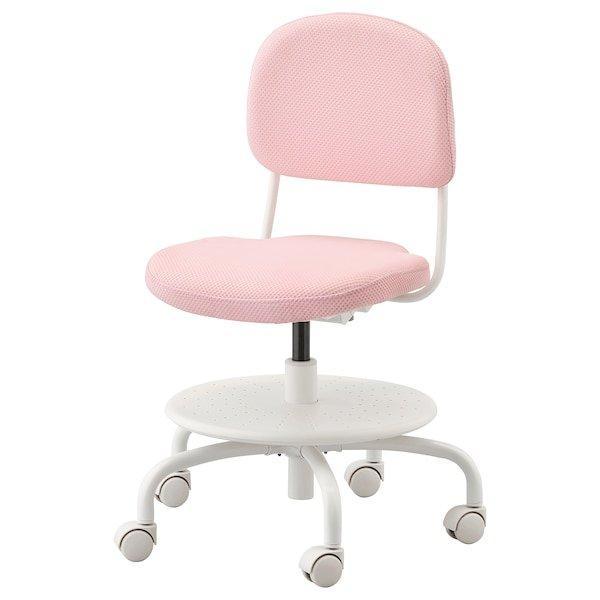 VIMUND ВІМУНД, Дитяче робоче крісло, світло-рожевий