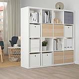 KUGGIS КУГГІС, Коробка для зберігання, білий30x30x30 см, фото 6