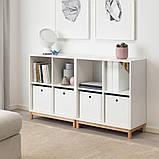 KUGGIS КУГГІС, Коробка для зберігання, білий30x30x30 см, фото 7