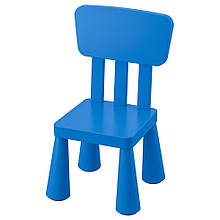 MAMMUT МАММУТ, Дитячий стілець, для приміщення/вулиці, синій
