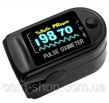 Портативный пульсометр оксиметр на палец Pulse Oximeter OX-831, прибор для измерения пульса, кислорода в крови