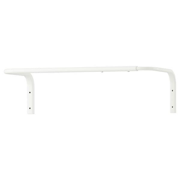 MULIG МУЛІГ, Штанга для одягу, білий60-90 см
