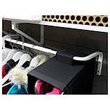 MULIG МУЛІГ, Штанга для одягу, білий60-90 см, фото 4