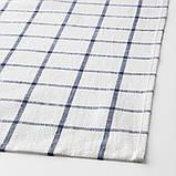 ELLY ЕЛЛІ, Рушник кухонний, білий, синій 50x65 см / 4 шт, фото 3