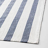ELLY ЕЛЛІ, Рушник кухонний, білий, синій 50x65 см / 4 шт, фото 4