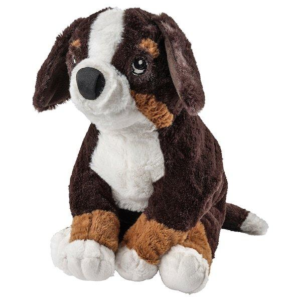 HOPPIG ХОППІГ, Іграшка м'яка, пес, бернська вівчарка36 см